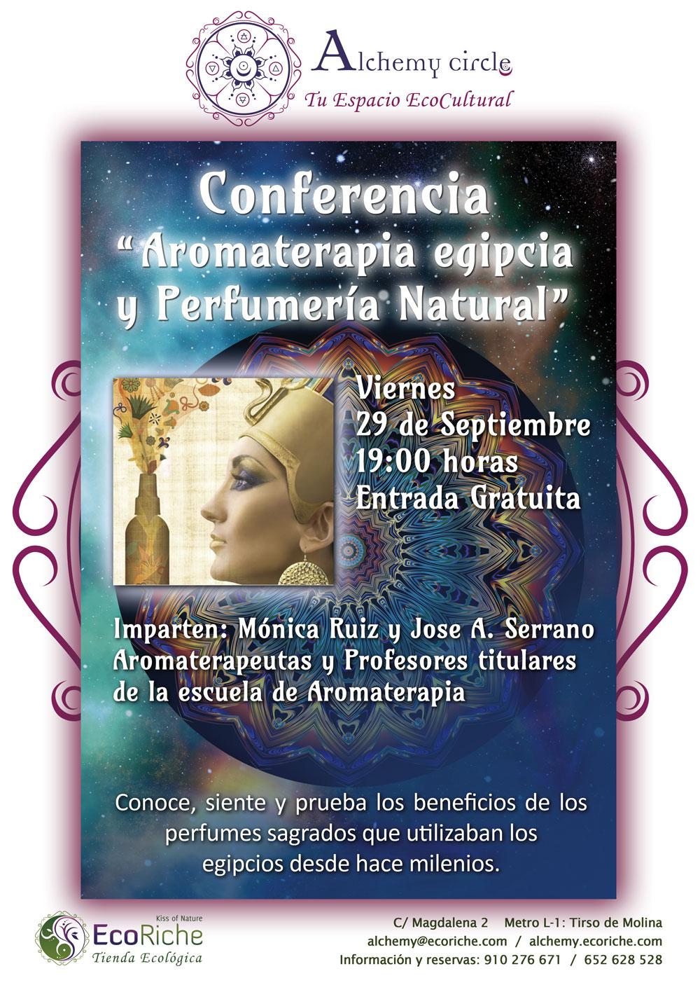 Conferencia de Aromaterapia