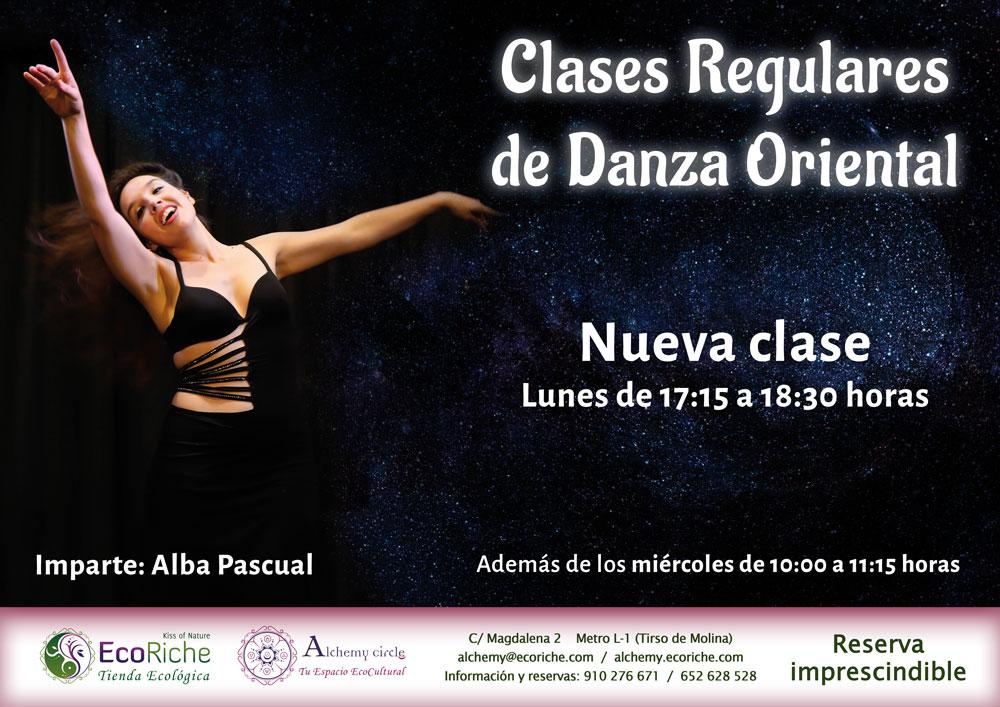 Clase regular: Danza Oriental