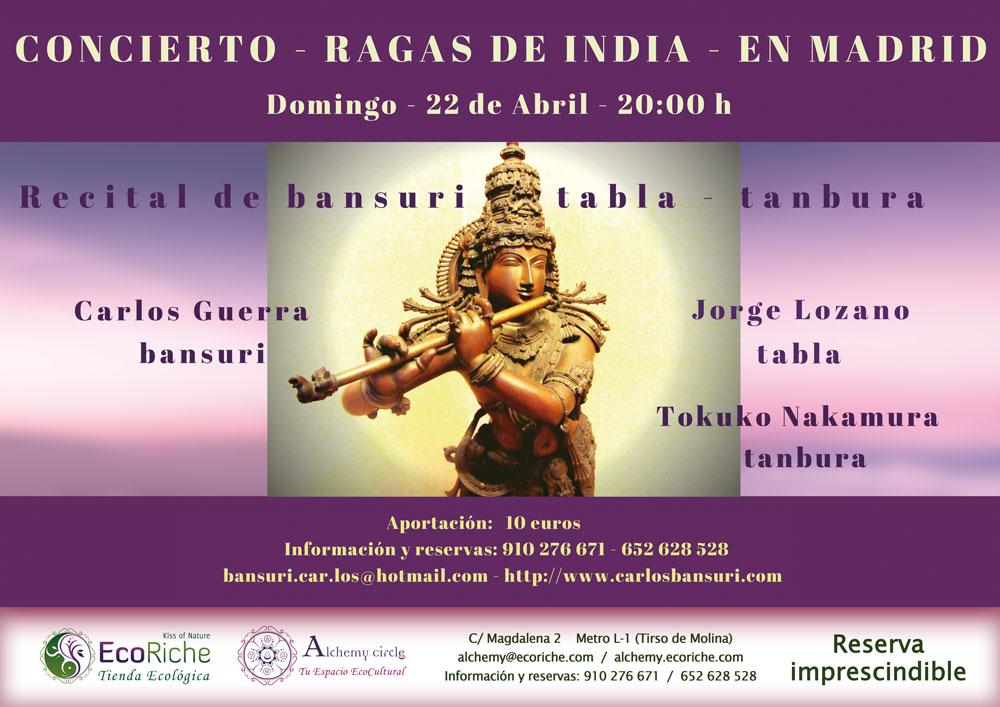 """Concierto """"Ragas de India"""""""