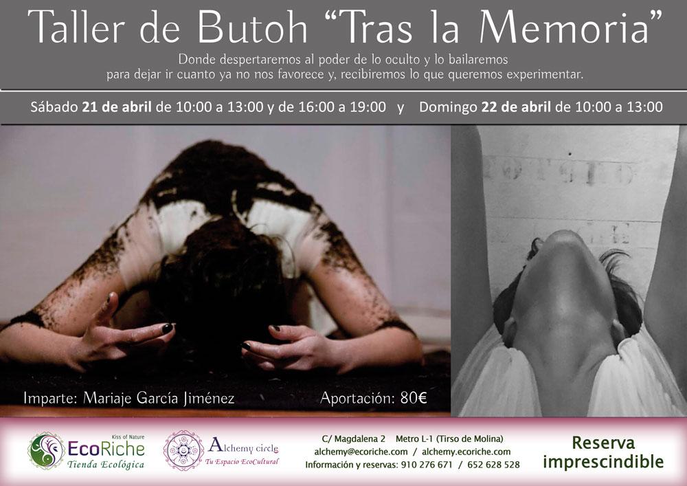 Taller de Danza Butoh «Tras la Memoria»