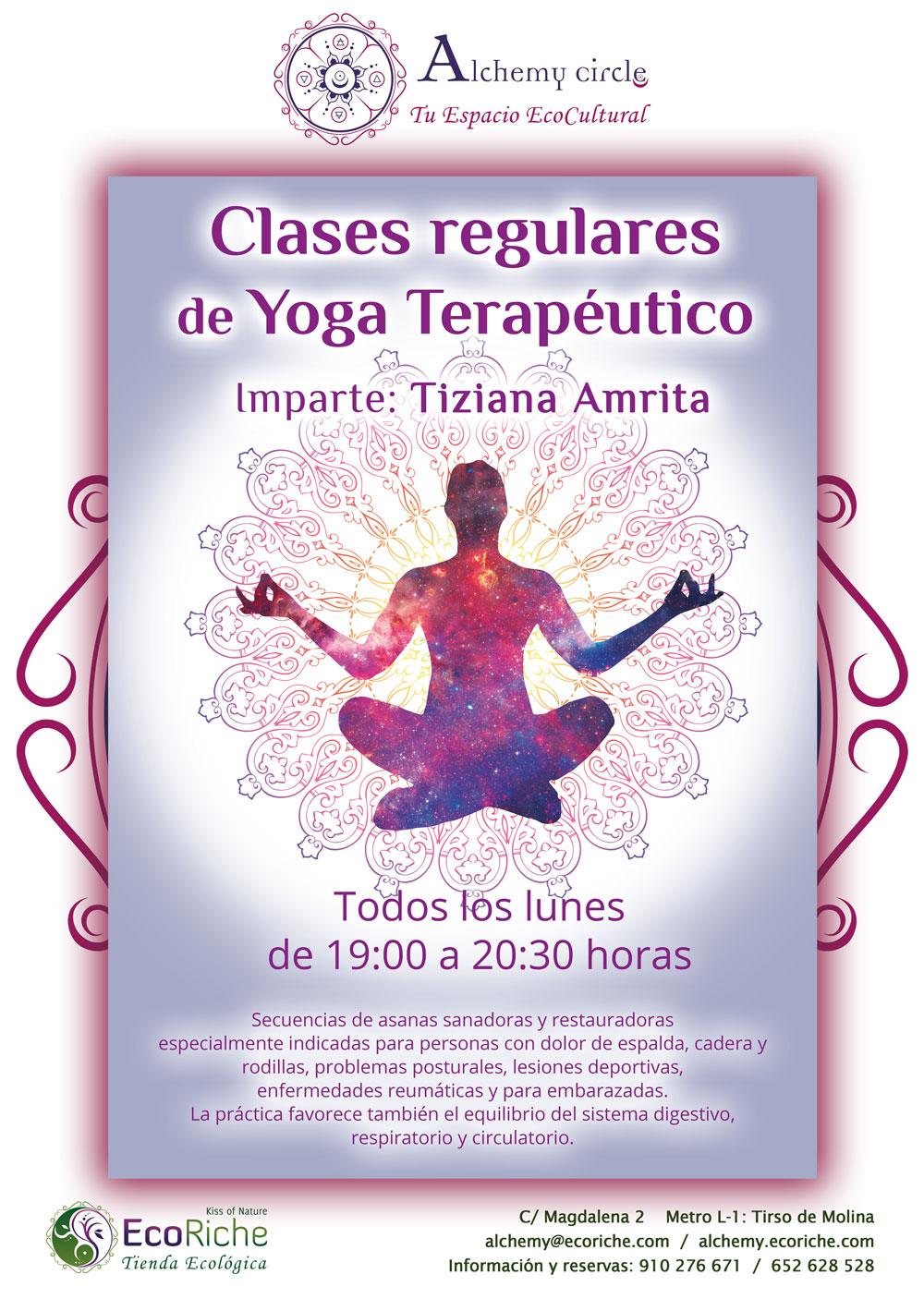Clase regular: Yoga Terapéutico