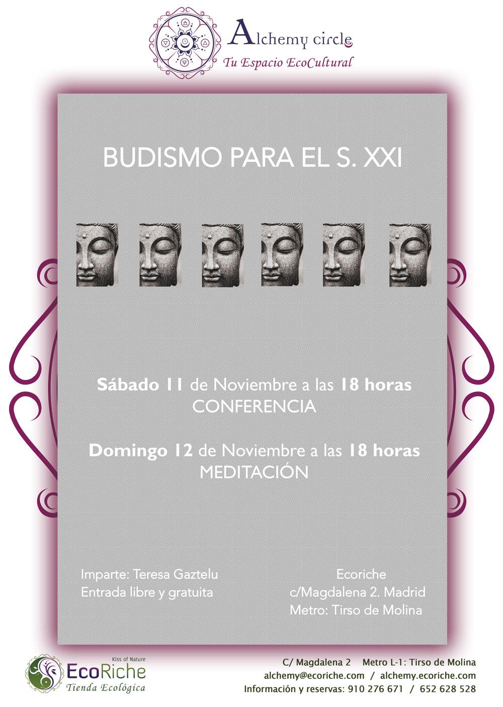 """Conferencia gratuita """"Budismo para el siglo XXI"""""""