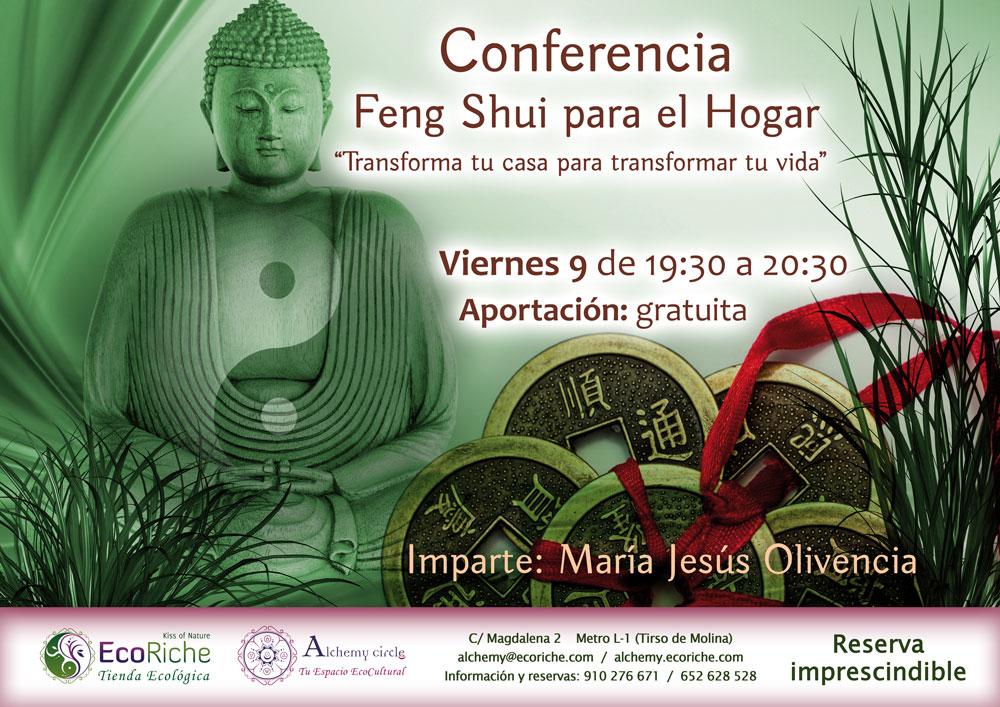 Conferencia gratuita «Feng Shui para el hogar»